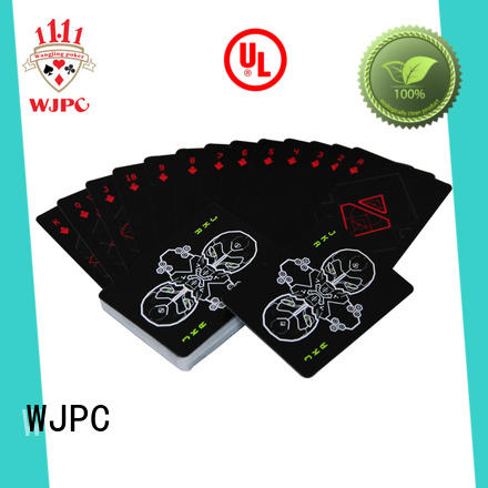 WJPC popular cardistry cards customized for game