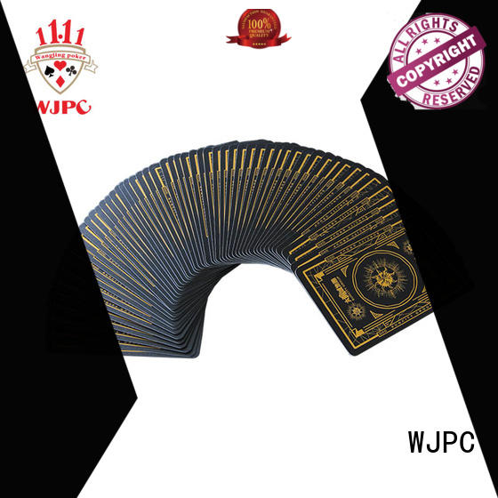 WJPC mystery poker card producer for game