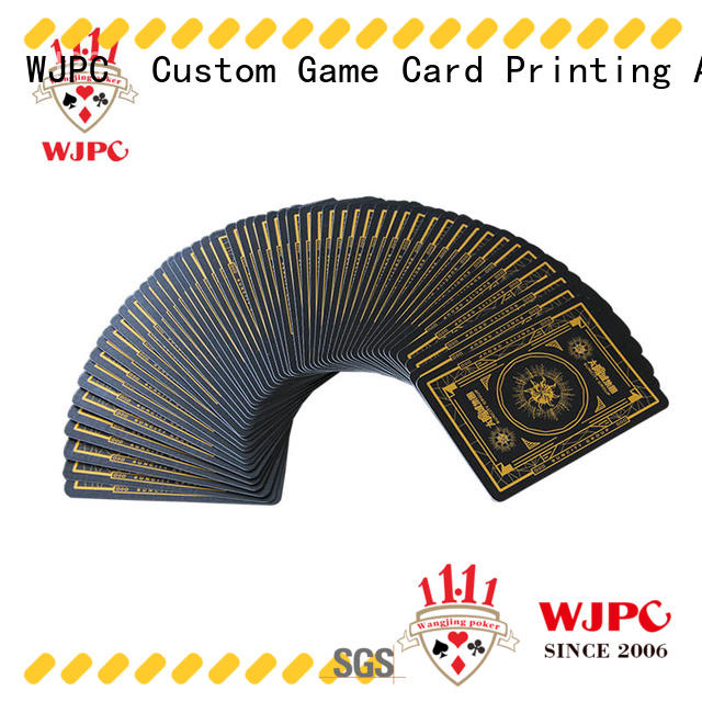 german full leisure WJPC Brand poker card sets manufacture