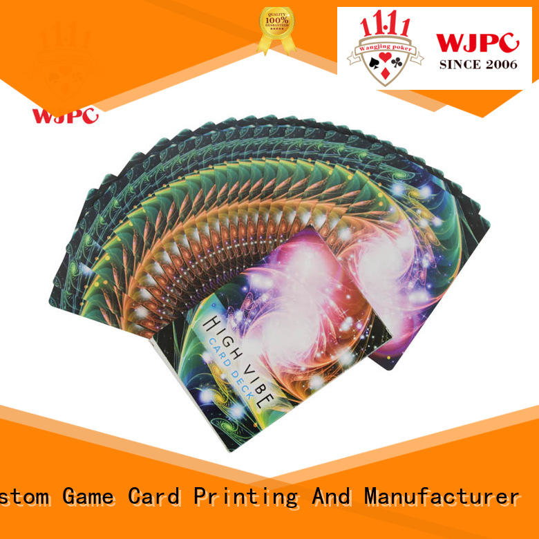 WJPC Latest oracle card decks factory for casino