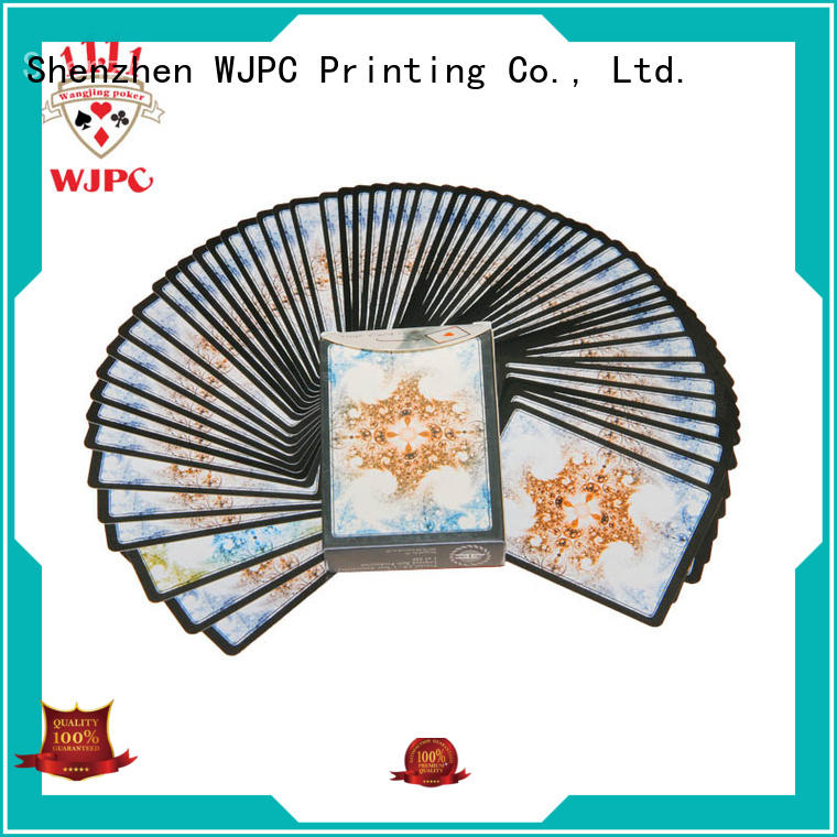WJPC fashion poker cards newly for party