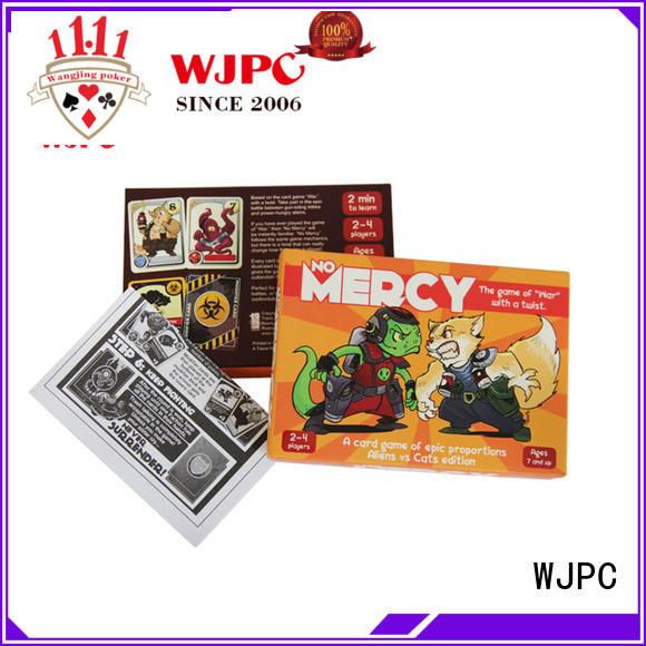 WJPC magical custom game cards overseas market
