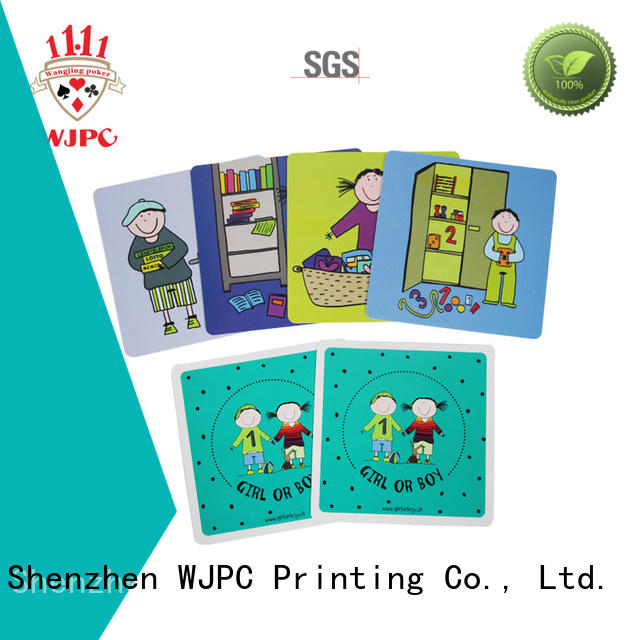 WJPC Top educational flashcards for kids company for school