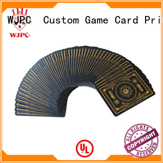 WJPC popular playing card cards for game