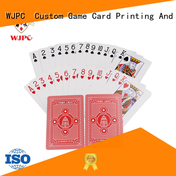 WJPC fashion nicest deck of cards factory for bar