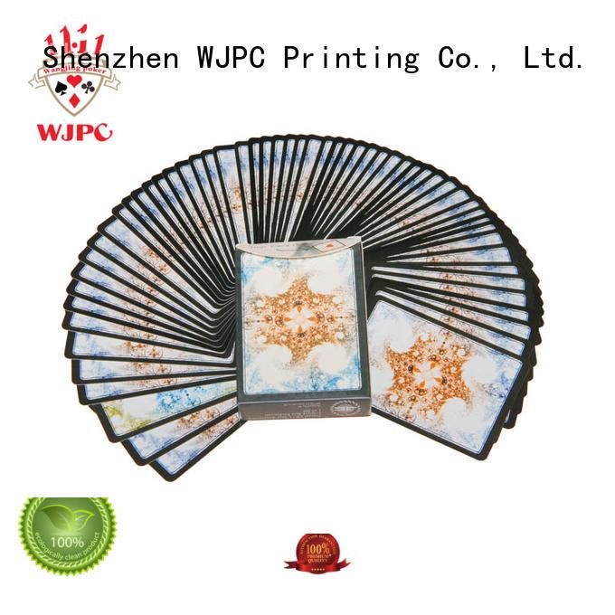 WJPC golssy magic standard decks cards for bar