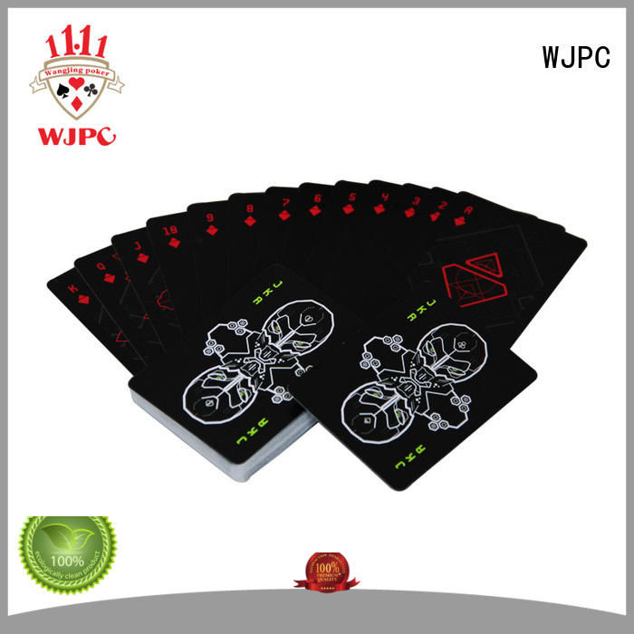 WJPC easy to operate cardistry decks order now for game