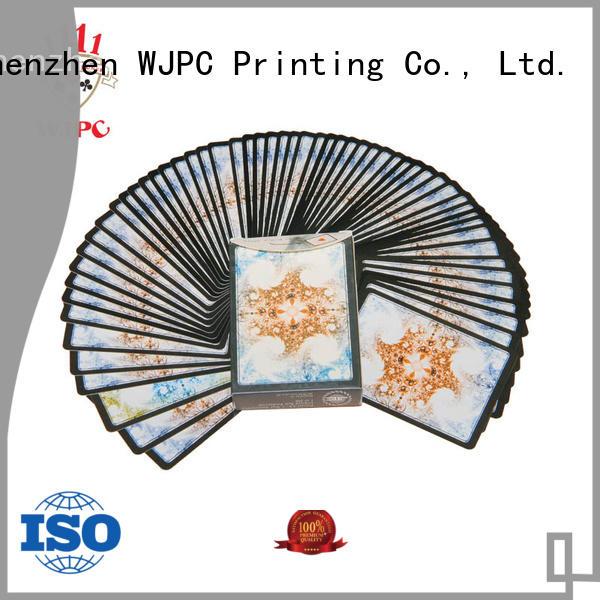 WJPC durable magic card poker producer