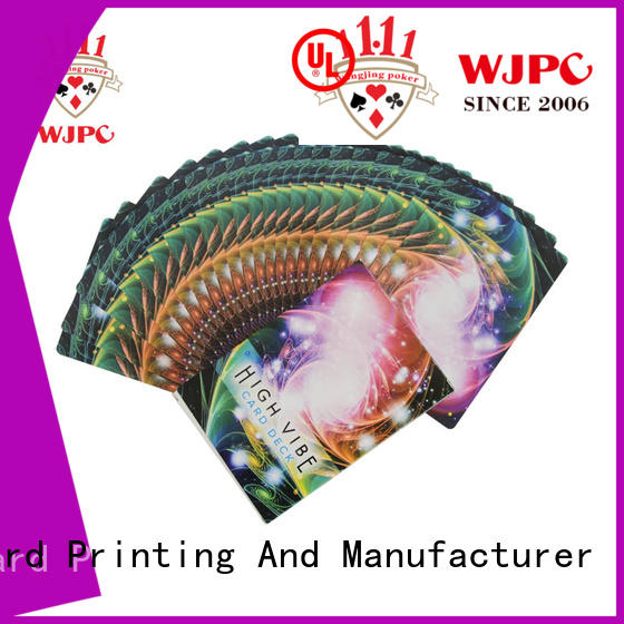 WJPC high grade oracle cards wholesale for bar