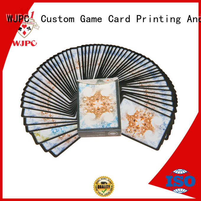 hot sale quality playing cards printing overseas market for game