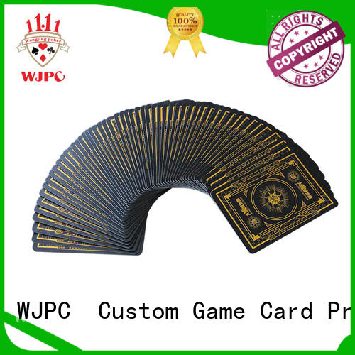 WJPC core professional poker cards owner for game