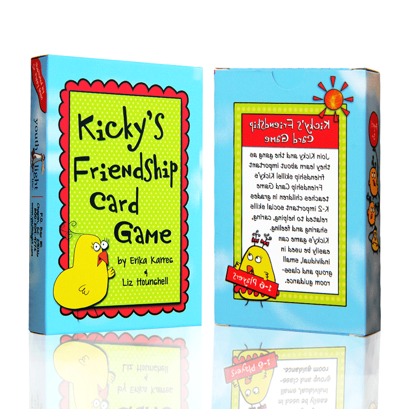 PVC Coated Paper Game Cards